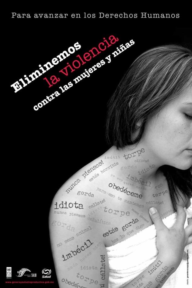 Dia Internacional de la NO violencia contra las mujeres 25 nov